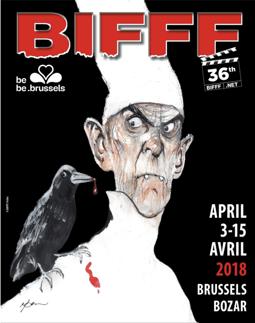 36e Festival International du Film Fantastique de Bruxelles - BIFFF 2018
